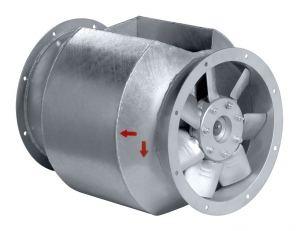 Вентилятор осевой Systemair AXCBF 315D4-32