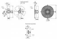EBMPAPST A6E450-AN08-01