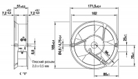 EBMPAPST W2E143-AB09-01