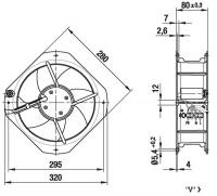 EBMPAPST W2E250-HL06-01