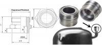 """Адаптер для вентиля Rotalock 1"""" - 16 мм"""