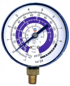 Манометр низкого давления R134a/404a/22/407c