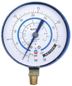 Манометр низкого давления R410a
