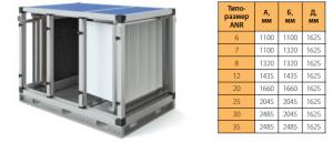 Секция N5 – фильтрование EU5 + водяной нагрев