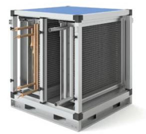 Секция Т2 – водяной нагрев + фреоновое охлаждение