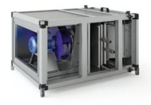 Фильтрование EU3 + водяной нагрев + вентиляция