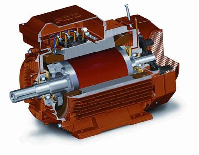 Схема электродвигателя ABB