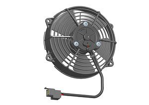Осевой вентилятор Spal 140 мм автомобильный