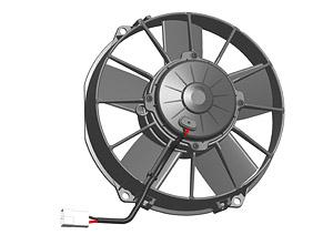Осевой вентилятор Spal 225 мм автомобильный