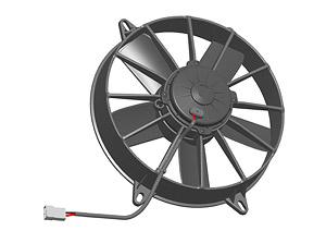 Осевой вентилятор Spal 280 мм автомобильный