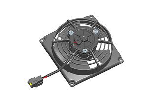 Осевой вентилятор Spal 115 мм автомобильный