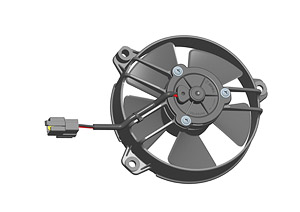 Осевой вентилятор Spal 130 мм автомобильный