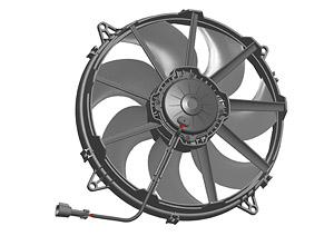 Осевой вентилятор Spal 340 мм автомобильный
