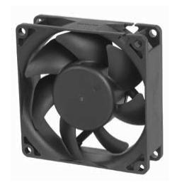 AC вентиляторы 80x80x25