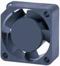 DC вентиляторы 25x25x10