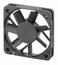 DC вентиляторы 50х50x10
