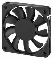 DC вентиляторы 60х60x10