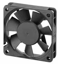 DC вентиляторы 60x60x15