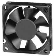 DC вентиляторы 60x60x20