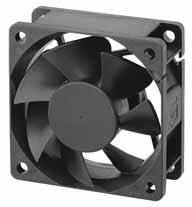 DC вентиляторы 60x60x25