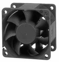 DC вентиляторы 60x60x38