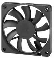 DC вентиляторы 70х70x10