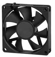 DC вентиляторы 70x70x15