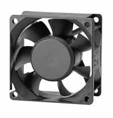 DC вентиляторы 70x70x25