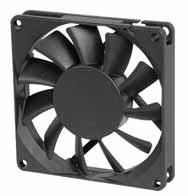 DC вентиляторы 80х80x15