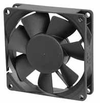 DC вентиляторы 80x80x20