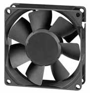 DC вентиляторы 80x80x25