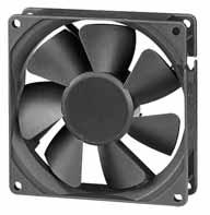 DC вентиляторы 92х92x25