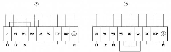 Схема подключения S4D500-AM03-01