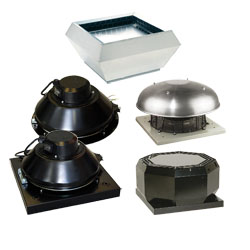 Крышные вентиляторы Systemair